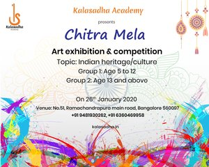 drawing exhibition and competition at kalasadha academy